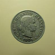 Switzerland 10 Rappen 1904 - Schweiz