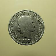 Switzerland 10 Rappen 1901 - Schweiz