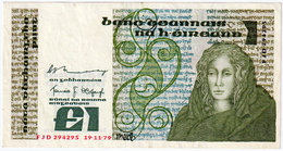 IRELAND , 1 POUND 19.11.1979. , P-70b ,XF - Ireland