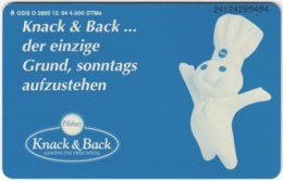 GERMANY O-Serie B-224 - 2895 12.94 - Food, Drink, Coffee - MINT - Deutschland