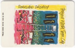 GERMANY O-Serie B-293 - 444 04.94 - Painting, Modern Art / Event, Sport, Tennis - MINT - Deutschland