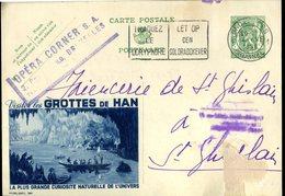 15138375 Belgium 19380604 Bx Han Grottes Publibel300 - Postcards [1934-51]