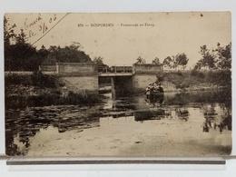 29 - ROSPORDEN - PROMENADE EN ETANG - ANIMÉE - 1906 - Altri Comuni