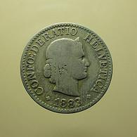 Switzerland 10 Rappen 1883 - Schweiz