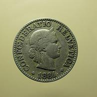 Switzerland 10 Rappen 1881 - Schweiz