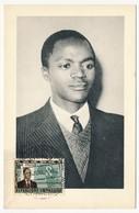 RWANDA => Carte Maximum - G.KAYIBANDA, Président De La République Rwandaise - 1962 - Rwanda