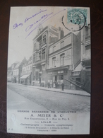 Carte Façade De Commerce  Grande Brasserie De L'industrie  A-MEIER      -LILLE - Lille