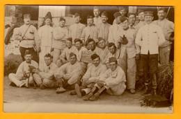Carte Photo 32ème Régiment D'artillerie  Ecoles à Feu 1914  Nogent Sur Seine    EDT  Beausseron   N° - Régiments