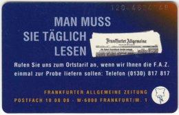 GERMANY S-Serie B-137 - Advertising, Newspaper (1204) - Used - Germany