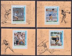 MAURITANIA 1988, Mi# 926-929, Imperf Blocks, Sport, Olympics Seoul, MNH - Estate 1988: Seul