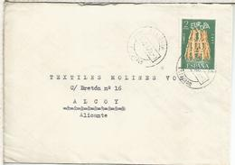SEGOVIA CC MAT SEGOVIA ESTACION SELLO EUROPA CEPT RAILWAY STATION POSTMARK - 1931-Hoy: 2ª República - ... Juan Carlos I