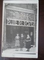 Carte Photo Façade De Magasin Pluie De Rose VICTOR-BECHIN 31, Boulevard Carnot    -LILLE - Lille