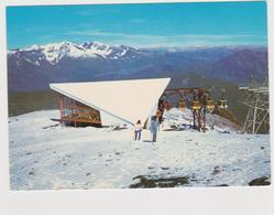 La Grave  Arrivée D'un Train De Cabine Du Téléférique Des Glaciers - Autres Communes