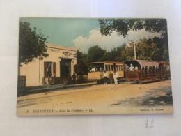 CPA TUNISIE - FERRYVILLE - 3 - Gare Du Tramway - LL - Tunisia