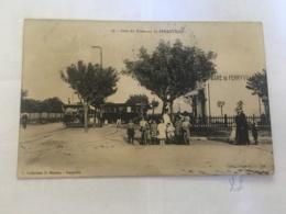 CPA TUNISIE - FERRYVILLE - 33 - Gare Du Tramway De Ferryville - Tunisia