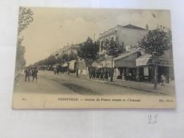CPA TUNISIE - FERRYVILLE - 271 - Avenue De France Venant De L'Arsenal - Tunisia
