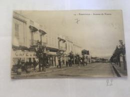 CPA TUNISIE - FERRYVILLE - 24 - Avenue De France - Tunisia