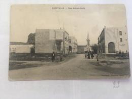CPA TUNISIE - FERRYVILLE - Rue Amiral Ponty - Tunisia