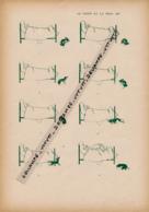 """HUMOUR (1907) : DESSIN De Caran D'Ache """"Le Chien Et La Puce"""", Chien, Homme Couché Dans Son Lit, Démangeaisons - Alte Papiere"""