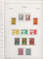 Potugal     .   Page Avec Timbres    .         **      .      Neuf SANS Charniere  .   /   .  MNH - 1910-... République