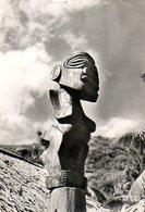 Îles De La Société : Le Tiki Sculpture Polynésienne - Polinesia Francese