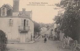 3-4---saint Pierre De Chignac--24-- Grande Rue-voir Recto Verso--livraison Gratuit - Other Municipalities