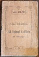 HISTORIQUE Du 248° Régiment D'artillerie - Catalogues