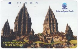 INDONESIA A-562 Magnetic Telekom - Culture, Ruins - Used - Indonesië