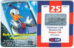 ITALY G-726 Prepaid TIM - Walt Disney, Duck Family - Used - Italie