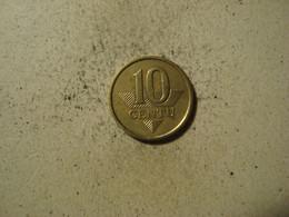 MONNAIE LITUANIE 10 CENTU 1998 - Lithuania