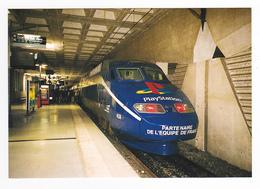 59 Gare Lille Europe N°529 TGV Réseau N°4530 PUB Playstation Partenaire équipe De France De Foot Le 3 Août 1998 VOIR DOS - Lille
