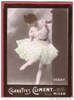 Image Vignette Cigarettes CLIMENT ALGER DEBAY - Tirage De La Marque Etoile - Climent