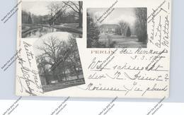 0-2731 PERLIN, 3 Ansichten, 1910, Kl. Einriss - Wismar