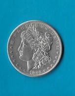 L-81  USA=1880-S   SILVER   MORGAN  DOLLAR   BU - Federal Issues
