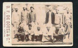 Principais Chefes Na REVOLTA SATARY. Sattari Rebellion. Old PHOTO B.F.SOUZA Goa PANGIM Portuguese India 1902 - Fotos