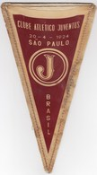 Football / Clube Atlético Juventus, Sao Paulo, Brasil / Flag, Pennant / Sport - Apparel, Souvenirs & Other