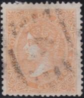 Espana      .    Yvert          .    86        .         O      .       Oblitéré  .  /   Cancelled - 1850-68 Regno: Isabella II