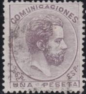 Espana      .    Yvert          .    126      .         O      .       Oblitéré  .  /   Cancelled - 1872-73 Royaume: Amédée I