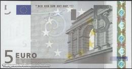 TWN - MALTA 8F - 5 Euro 2002 (2008) Prefix F - E009B2 - Signature: Trichet UNC - Malte