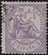 Espana      .    Yvert          .    142       .         O      .       Oblitéré  .  /   Cancelled - 1873-74 Regentschaft