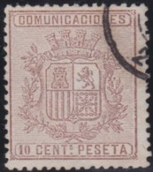Espana      .    Yvert          .    151      .         O      .       Oblitéré  .  /   Cancelled - 1873-74 Regentschaft