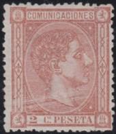 Espana   .    Yvert  .    153      .     (*)      .      Pas De Gomme    .  /  .   No Gum - 1875-1882 Regno: Alfonso XII