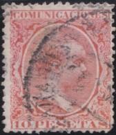 Espana      .    Yvert          .    211  (2 Scans)     .         O      .       Oblitéré  .  /   Cancelled - 1889-1931 Regno: Alfonso XIII