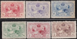 Espana   .    Yvert  .     236/241     .      *       .       Neuf Avec Gomme  .  /  .   Mint-hinged - 1889-1931 Königreich: Alphonse XIII.