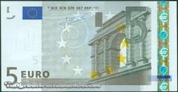 TWN - MALTA 8F - 5 Euro 2002 (2008) Prefix F - E009E2 - Signature: Trichet UNC - Malte