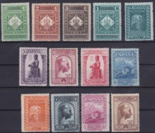 Espana   .    Yvert  .      473/485 (2 Scans)  (plusieurs Timbres: **)    .      *       .       Neuf Avec Gomme - 1889-1931 Reino: Alfonso XIII