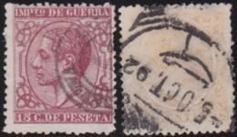 Espana   .    Yvert  .     Impots Du Guere  .  10/11  .  Aminci       .     O       .      Oblitéré  .  /  .   Cancelled - Impuestos De Guerra