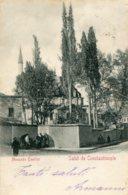 TURKEY - Constantinople - Salut De Constantinople Mosquee Emirler - Undivided Rear - Turchia