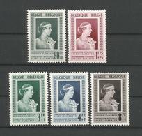 Belgium 1951 Stichting Kon. Elisabeth OCB 863/867 ** - Ongebruikt