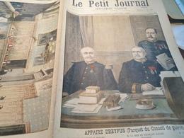 P.J 98 / AFFAIRE DREYFUS CONSEIL DE GUERRE - 1900 - 1949